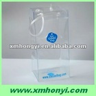pvc plastic ice cooler bag for wine with pipe handle