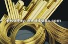 High-strength elastic alloys