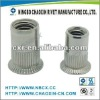 Flat Head kunrled Rivet nut