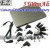 5500mAh Portable Universal External Laptop Battery &IP-668