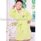 kids cotton velour bathrobe