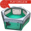 GREEN CAT CAGE, DOG CAGE, PLAY CERCLE M, PE PRODUCTS