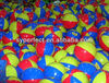 Cheap 2013 Hot sales 6 Panels PVC Ball Manufacture Popular Sticker Ball wholesales