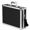 "Aluminum Briefcase Hard Case for 17"" 15"" 14"" 13"" Laptop"