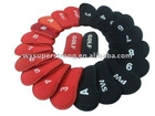 2013 High Quality Neoprene Golf Club Head Cover,customized logo accepted
