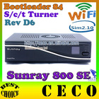 sunray4 800hd se 3in1 S/C/T tuner with WIFI, 300 WLAN