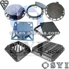 EN124 Manhole Cover (Ductile Iron, Cast Iron & Various Specs)