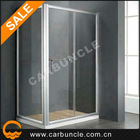 tempered glass with aluminium profiles for shower enclosures JL136E-1