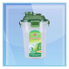 Plastic Regular Polygon Cup With Filter And Lid