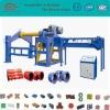 Horizontal ducting machine