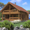 BCH020 Japan Design Prefabricated Log House