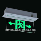 Malon ML-B087 emergency neon sign/autotest/rechargeable/beacon/led sign/056