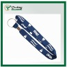Navy Blue Tubular Lanyard