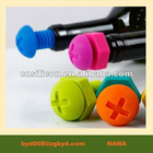 Silicone beer saver silicone beer cap