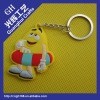 soft pvc rubber key chain