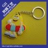 soft pvc rubber key chain