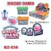 Magic Sand Toy ,Water Magic Tricks,Fish Tank Shape Magic Sand