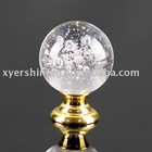 shining crystal glass knobs