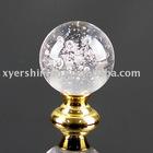shining crystal glass knobs