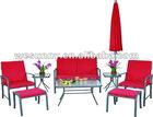 Garden metal sofa outdoor furniture