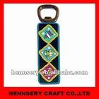 soft pvc 2D&3D antique magnet beer bottle opener