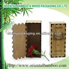 popular perfume box bamboo and wood material