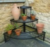 3-layer metal corner flower pot stand