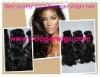 Top quality 100% human hair weft straight in stock