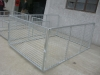 900mm high trailer mesh gate