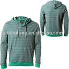 Men's long sleeves T/C french terry pullover hoody sweatshirt