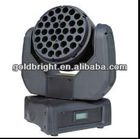 12CH RGBW 37PCS 3W Led Moving Head Wash