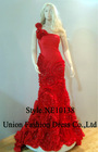 NE10138 New arrvial elegant fashion evening dress 2012