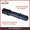 185lumens LED tactical flashlight