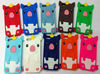 high quality lovely cartoon Silicon case for iPhone 5
