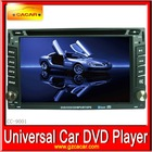 Universal car dvd 2 din for with touch screen,bluetooth