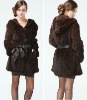 2012 the most popular mink fur coat