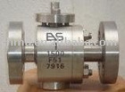 Hard Seal Forged Stainless Steel Duplex Ball Valve