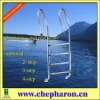 (2012 High quality) stainless steel ladder for swimming pool
