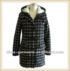 Ladies long wool coat