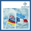 promotional beac flag polyester flags