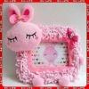 plush animal toy photo frame