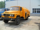 Dongfeng cusp-head jetting truck