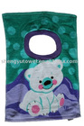 100%cotton reactive printed bibs for baby