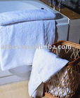 soft feeling 100% combed cotton bath towel
