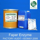 Deinking enzymes for pulp paper