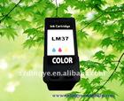 Remanufactured ink cartridge lexmark 37/LM37