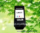 Remanufactured ink cartridge lexmark 37/LM37