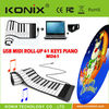 61 keys mini silicone keyboard roll up electronic piano