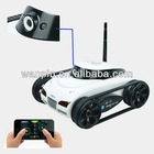 2013 New Arrival! Real-time Transmission App Controlled Wireless Wifi Iphone Tank With Camera