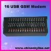 Hot sale!16 ports usb gsm bulk sms modem